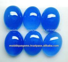 azul ágatas 12x16 oval cabujón