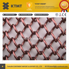 premium metal wire mesh coil curtain/metal mesh fabric for screen & room divider from alibaba malaysia KTMT