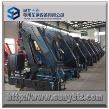 High performance and quality knuckle fold boom truck to meet Military quality, 1 ton ~ 25 ton folding crane