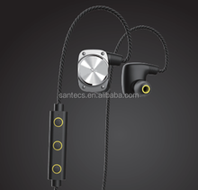 Waterproof IPX7 smart Bluetooth headset 4.1V with sports data recording app