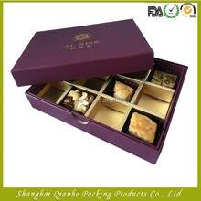 2015 new style custom packaging gift paper speciality food box