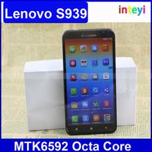 Original Lenovo S939 MTK6592 Octa Core Phone 6.0 Inch Lenovo S939 Mobile Smart Phone WCDMA 1GB RAM 8GB ROM Dual SIM Smartphone