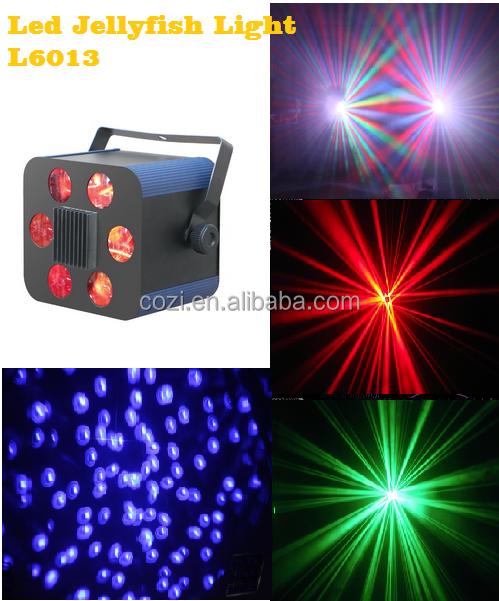 15 W Led de luz medusas Disco luz de la etapa luz
