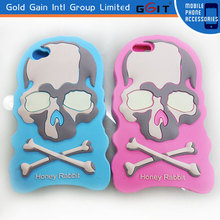 Fashion Soft Skull Case For IPhone 5