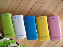 ODM/OEM colors small fish mouth 5600mah power bank