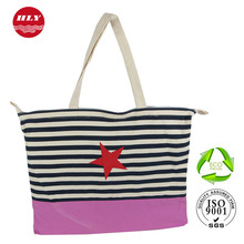 New Lovely Heavy Duty Cotton Canvas Shopping Tote Bag