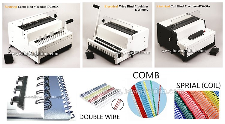 Electric Comb wire coil bind series-BOWAY.jpg
