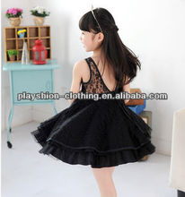 school girl sex party summer dress pretty girl lace princess puffy flower dress