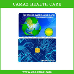 customized electricity saving Card with above 5000cc ions,suitable for home,Office, Industry used