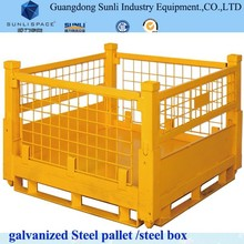 Galvanized Stainless Steel Pallet Wire Mesh Cage