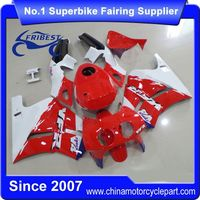 FFKHD031 Motorcycle Fairing For NC30 Red And White With Tank Cover