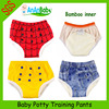 2014 New Waterproof Washable Bamboo Potty Baby Training Pants