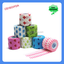 Dressing And Care Material Cohesive Bandage First Aid