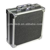 MLDGJ33 Black PU leather aluminum tool case with excellent quality