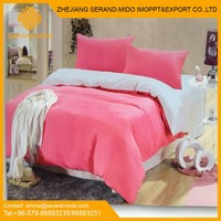 2015 New Design 100% cotton 4pcs solid duvet cover set classic bed linen set made in china home textile bedding set wholesale