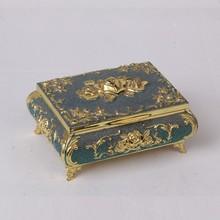 Classical European rose series zinc alloy Home Furnishing ornaments jewelry box