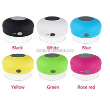 Portable Waterproof Wireless Bluetooth adsorbable Mini WIFI Speaker For SHOWER POOL Handsfree With free sample