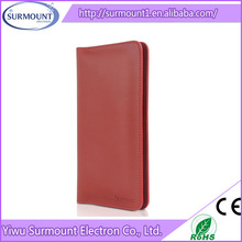 YIWU Alibaba Supplier Popular Handmade PU Leather Wallet Mobile Phone Case