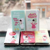 D092 Korean new 12 screen cute custom business card holder wholesale