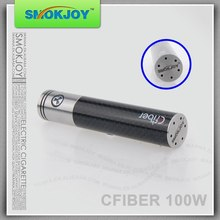 SMOKJOY Promotional huge vapor 3000 mah 3Kmah purple 510 screw thread 0.1 ohm tank carbanfbier 100w battery