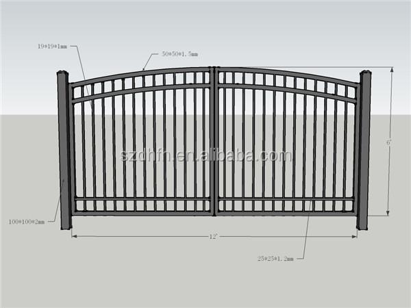 Barrier Gate Sliding Gate Main Gate Design Home Factory