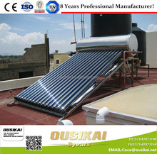100L-500L Factory Directly Sale Best Price Compact Pressure Solar Water Heater/Solar Geysers