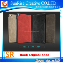 Sunrise Rock 360 degree rotating Leather Case Cover For iPad Air 2 for ipad 6