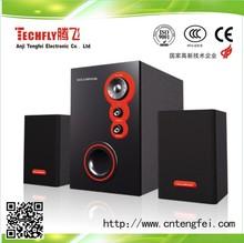 HOT HOT HOT!!!Fashion Design High-qualityAmplifierMultimediaSystem2.1 Speaker/Stereo Sound WoodenSpeaker/AC ComputerSpeaker2.1Ch