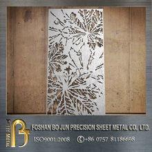 China manufacturer CNC machinery living roon decorative laser cut screen