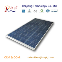 Famous brands 180W high efficiency poly solar panel with full certificate