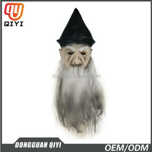 Party Decoration Old Man Latex Mask With Grizzled Beard Masquerade Masks Party Pack