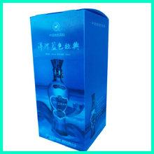 High Grade Luxury Folding Custom Plastic Packaging Wine Box