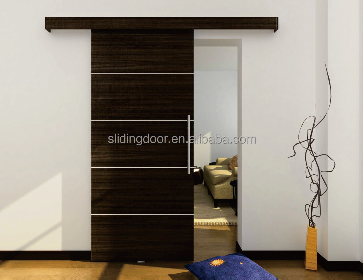 Hot new products for 2014 latest design wood room door for Sliding main door