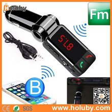 Wireless Bluetooth FM Transmitter MP3 Player Dual USB Car Charger Kit, MP3 Player Dual USB Car Charger Kit