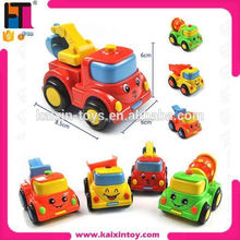 top cartoon design mini toy car with 4 styles