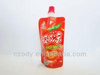 liquid food grade packaging plastic bag