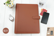 artificial leather rings binder, pp file folder wholesale 3 ring binders leather folder for interview ,folder papers