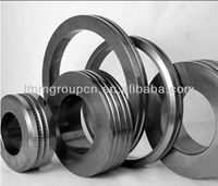 Tungsten carbide rings and punches