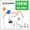 Bluesun best design 10kw solar panel system for home use