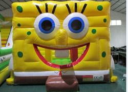 Spongebob inflatable bounce house/ spongebob jumping house/cartoon bouncy house