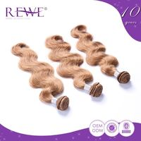 2 Year Warranty Body Wave Brazilian 613 Light Ash Blonde Hair Color Weft