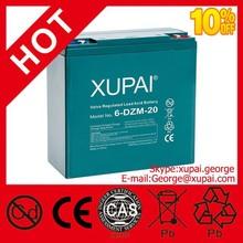 agm Sealed Lead Acid Battery 12v 20ah 6-dzm-20 48v 20ah E-scooter Battery(6-dzm-20)