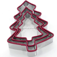 Stainless steel metal Christmas Cookie Cutter cutters and molds