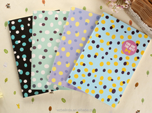 cheap wholesale cute design paper cover notebook for kids and school supplies