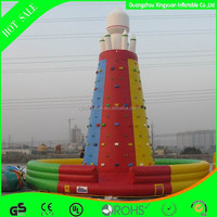 2014 New design commercial inflatable climbing towers