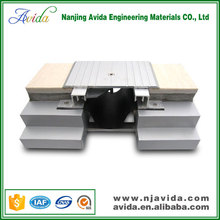 Drywall exterior wall recessed aluminium joint cover