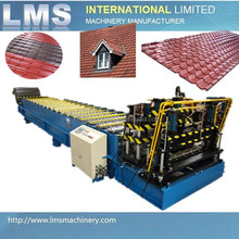 LMS Automatic High Quality Galvanized Roofing Sheet Roll Forming Machine