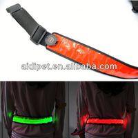 reflective LED flashing custom beaded western belts