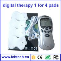 Apparatus Digital Therapy Machine / Digital meridian therapeutic apparatus Electric mini slimming body massager