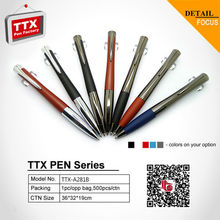 2015 office and school promotional thin metal ball pen